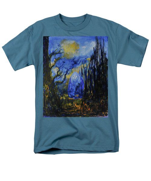 Men's T-Shirt  (Regular Fit) featuring the painting Old Ways by Christophe Ennis