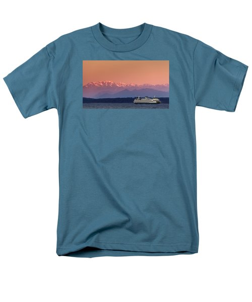 Men's T-Shirt  (Regular Fit) featuring the photograph Olympic Journey by Dan Mihai
