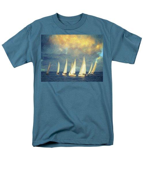 On A Day Like Today  Men's T-Shirt  (Regular Fit) by Taylan Apukovska