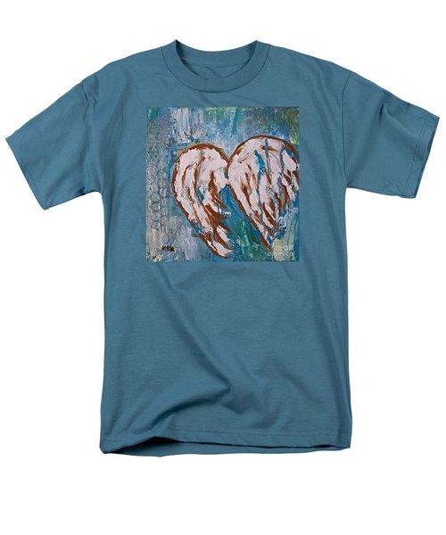 On Angel Wings Men's T-Shirt  (Regular Fit)