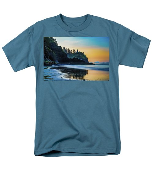 One Morning At The Beach Men's T-Shirt  (Regular Fit) by Ken Stanback