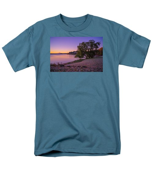 One Morning At The Lake Men's T-Shirt  (Regular Fit) by Ken Stanback