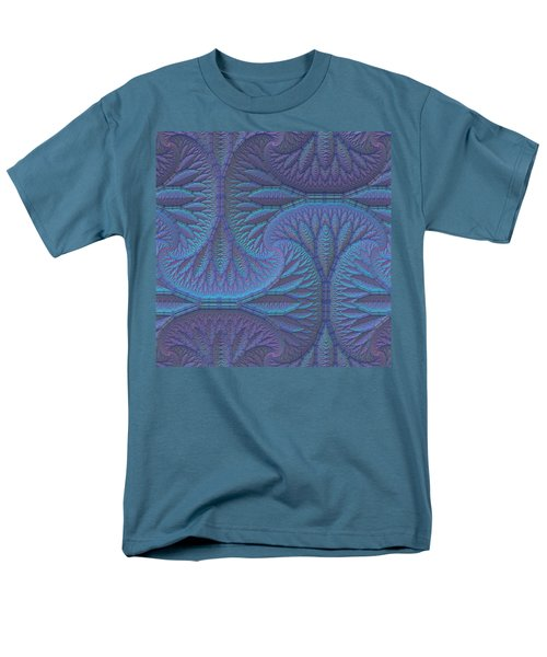 Men's T-Shirt  (Regular Fit) featuring the digital art Opalescence by Lyle Hatch