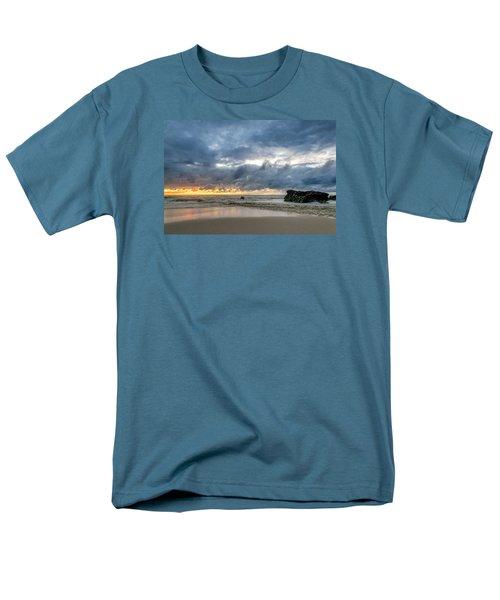 Orange And Blue Men's T-Shirt  (Regular Fit) by Martin Capek