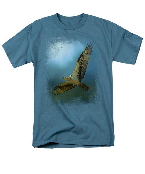 Osprey In The Evening Light Men's T-Shirt  (Regular Fit) by Jai Johnson