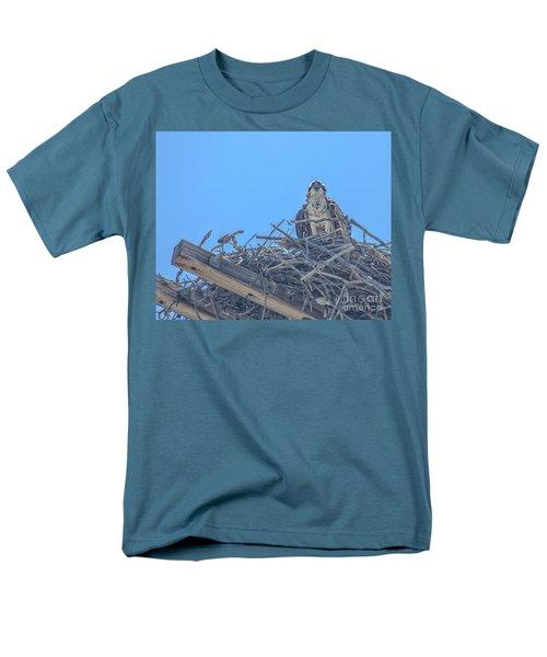 Osprey Nest Men's T-Shirt  (Regular Fit) by Billie-Jo Miller
