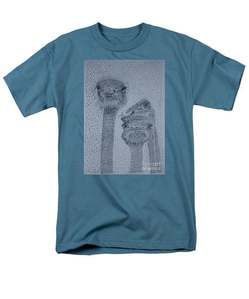 Ostrich Umbrella Men's T-Shirt  (Regular Fit)