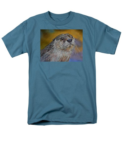 Otter Or Not Men's T-Shirt  (Regular Fit) by Ceci Watson