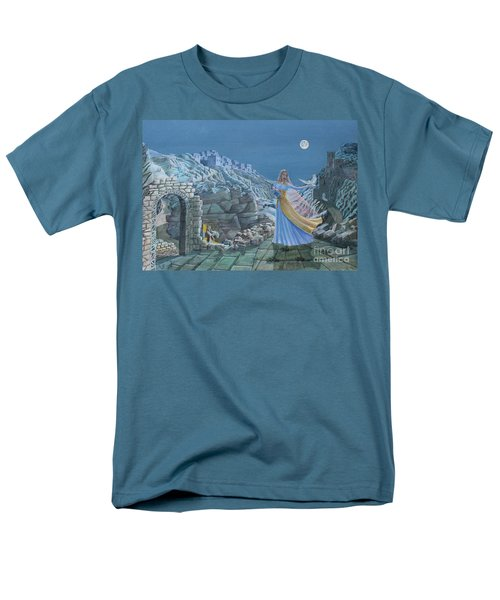 Our Lady Queen Of Peace Men's T-Shirt  (Regular Fit)