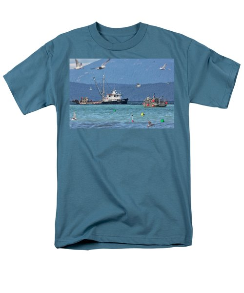 Men's T-Shirt  (Regular Fit) featuring the photograph Pacific Ocean Herring by Randy Hall