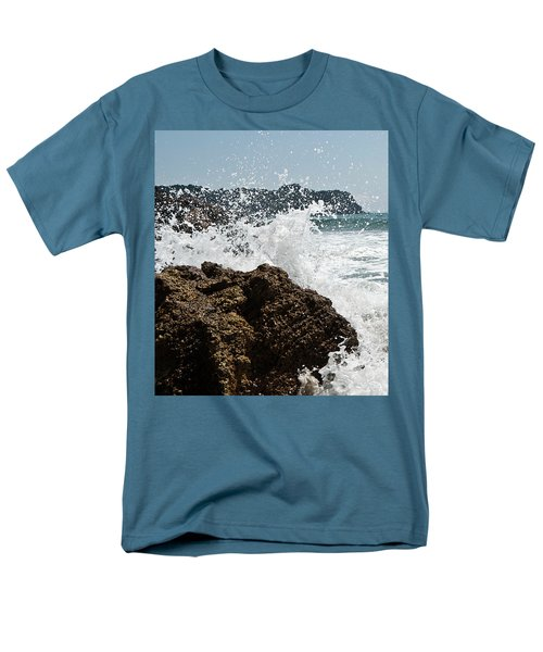 Pacific Splash Men's T-Shirt  (Regular Fit) by Yurix Sardinelly