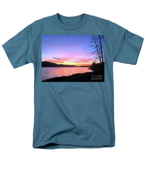 Painted Sky Men's T-Shirt  (Regular Fit) by Victor K