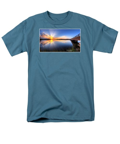 Patcong Rays Men's T-Shirt  (Regular Fit) by John Loreaux