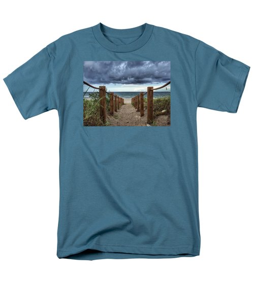 Pathway To The Clouds Men's T-Shirt  (Regular Fit)