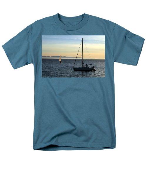 Peaceful Day In Santa Barbara Men's T-Shirt  (Regular Fit) by Clayton Bruster