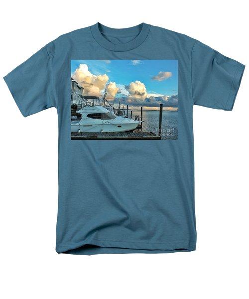 Peaceful Evening Walk  Men's T-Shirt  (Regular Fit) by Christy Ricafrente