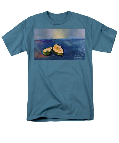 Pear Split Men's T-Shirt  (Regular Fit)