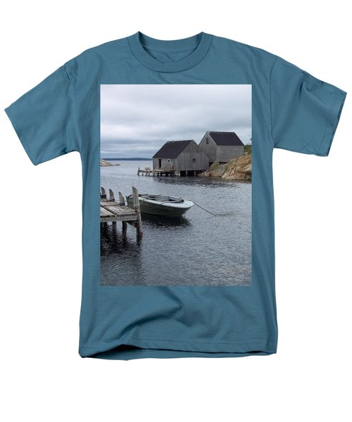 Men's T-Shirt  (Regular Fit) featuring the photograph Peggys Cove Canada by Richard Bryce and Family