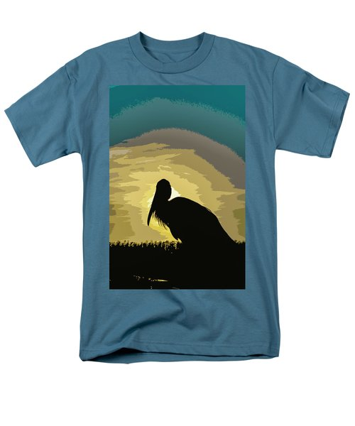 Pelican Paint Men's T-Shirt  (Regular Fit) by Josy Cue