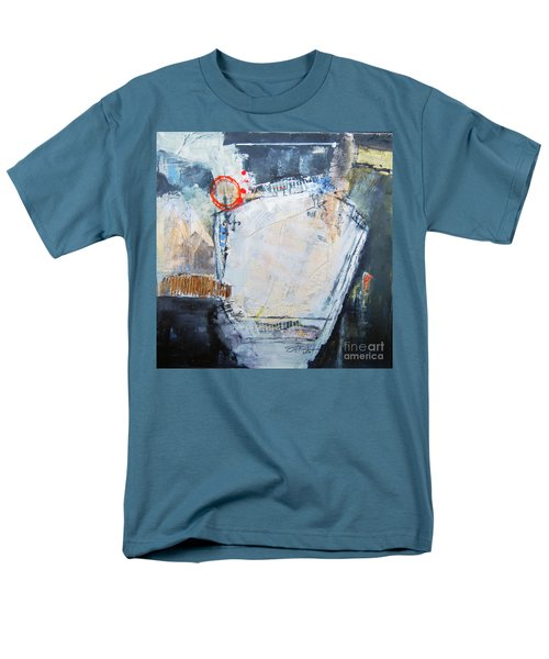 Men's T-Shirt  (Regular Fit) featuring the painting Pentagraphic by Ron Stephens