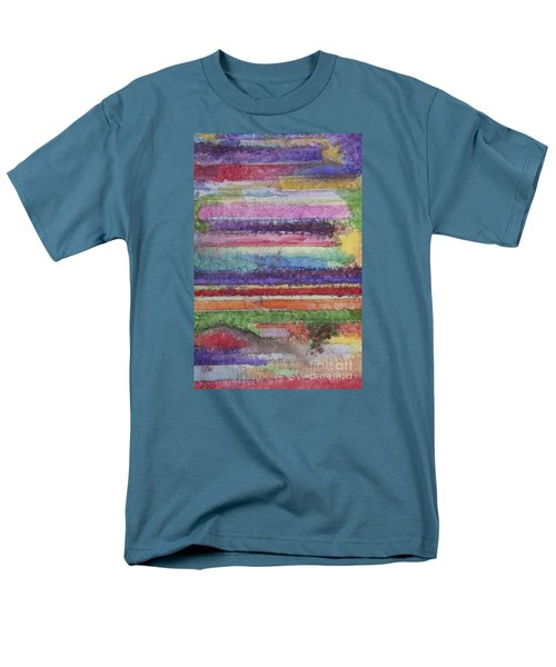 Men's T-Shirt  (Regular Fit) featuring the painting Perspective by Jacqueline Athmann