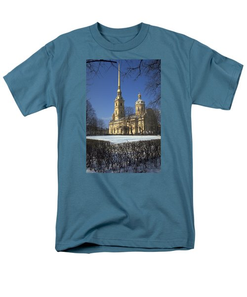 Peter And Paul Cathedral Men's T-Shirt  (Regular Fit) by Travel Pics