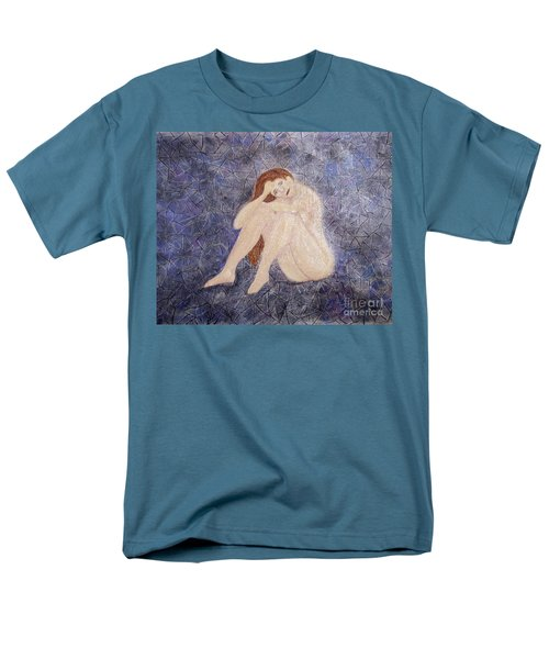 Men's T-Shirt  (Regular Fit) featuring the painting Pieces Of Me by Desiree Paquette
