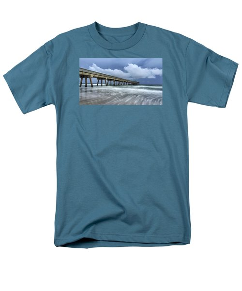 Pier Time Lapse Men's T-Shirt  (Regular Fit)