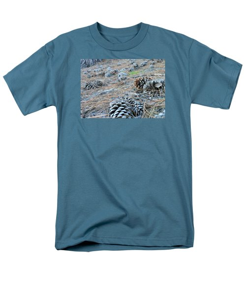 Men's T-Shirt  (Regular Fit) featuring the photograph Pine Cones by Kay Gilley