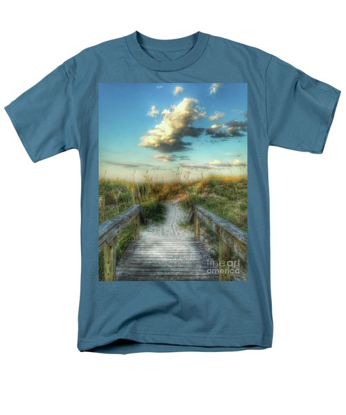 Pine Street Glow Men's T-Shirt  (Regular Fit)