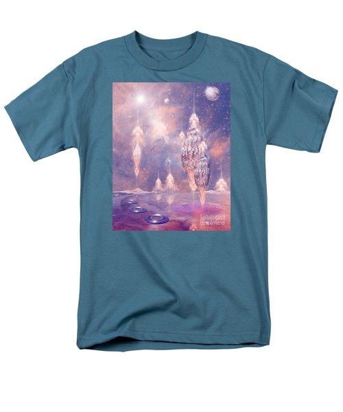 Men's T-Shirt  (Regular Fit) featuring the digital art Shell City by Alexa Szlavics