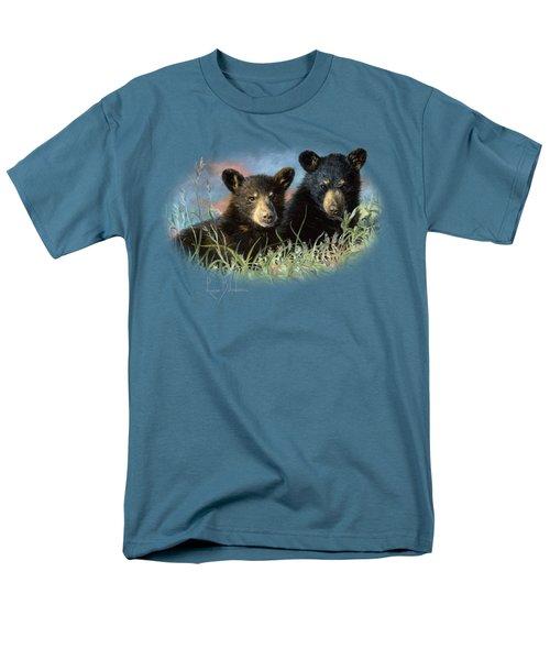 Playmates Men's T-Shirt  (Regular Fit) by Lucie Bilodeau