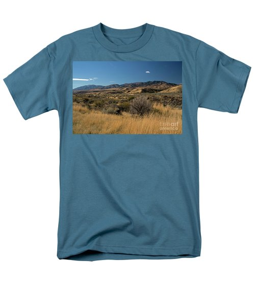 Pocatello Area Of South Idaho Men's T-Shirt  (Regular Fit) by Cindy Murphy - NightVisions