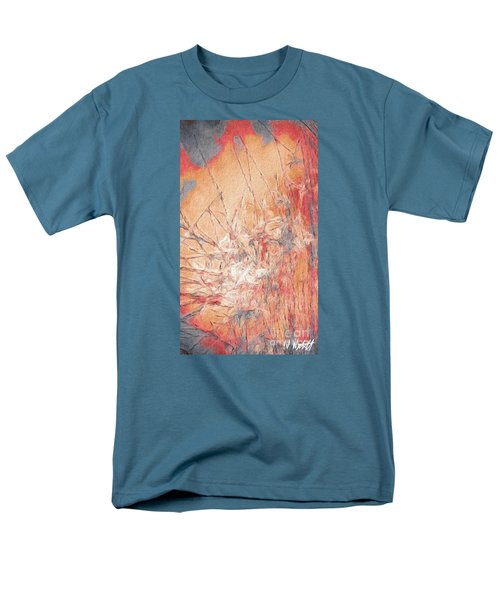 Men's T-Shirt  (Regular Fit) featuring the photograph Pond In Fall by William Wyckoff