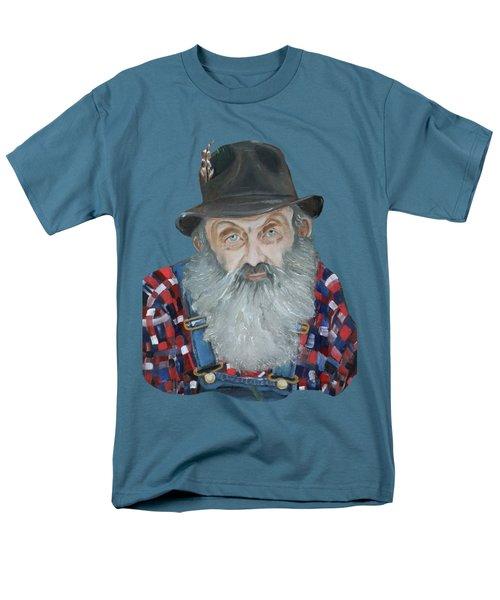 Popcorn Sutton Moonshiner Bust - T-shirt Transparent Men's T-Shirt  (Regular Fit)