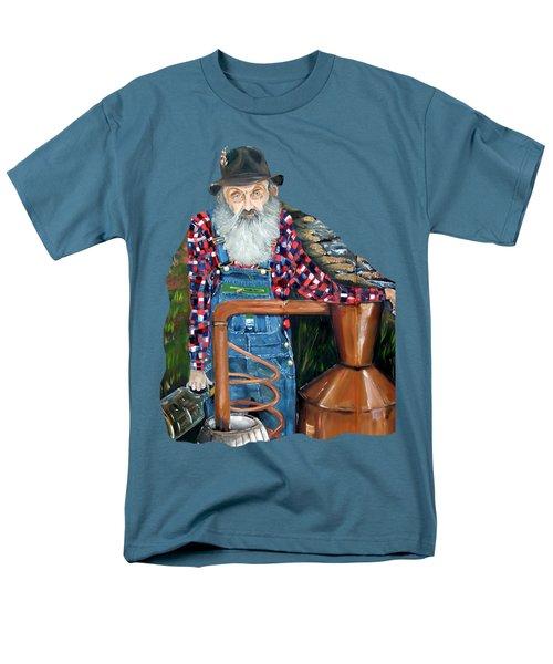 Popcorn Sutton Moonshiner - Tshirt Transparent Torso Men's T-Shirt  (Regular Fit)
