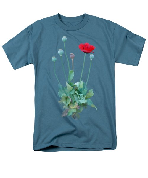Poppy Men's T-Shirt  (Regular Fit) by Ivana Westin
