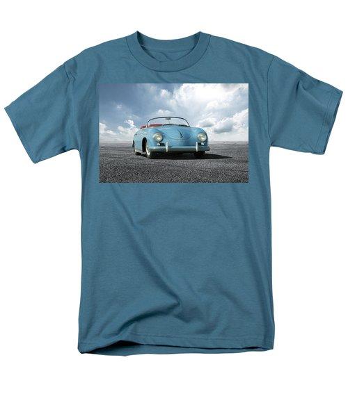 Men's T-Shirt  (Regular Fit) featuring the digital art Porsche 356 Speedster by Peter Chilelli