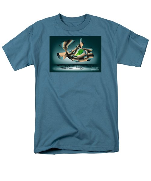Men's T-Shirt  (Regular Fit) featuring the digital art Position by Leo Symon