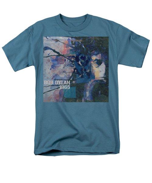 Positively 4th Street Men's T-Shirt  (Regular Fit) by Paul Lovering