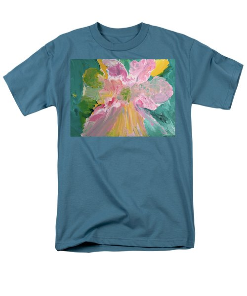 Pretty In Pastels Men's T-Shirt  (Regular Fit) by Karen Nicholson