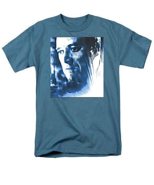 Men's T-Shirt  (Regular Fit) featuring the photograph Profile Of An Eccentric Doctor by Mario Carini