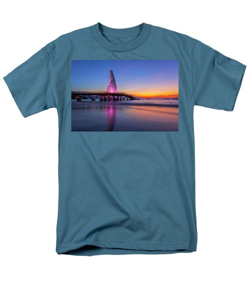 Puesta De Sol En La Playa De Los Murtos Men's T-Shirt  (Regular Fit) by Edward Kreis