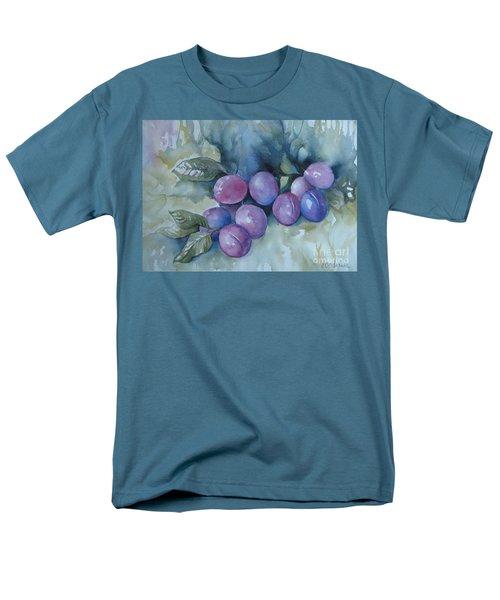Purple Plums Men's T-Shirt  (Regular Fit)