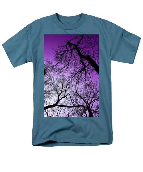Purple Sky Men's T-Shirt  (Regular Fit) by Josy Cue