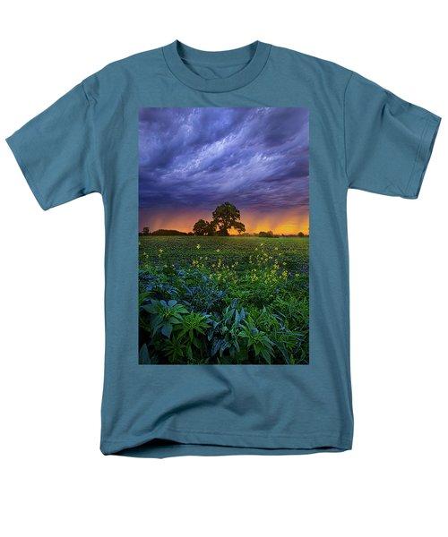 Quietly Drifting By Men's T-Shirt  (Regular Fit) by Phil Koch