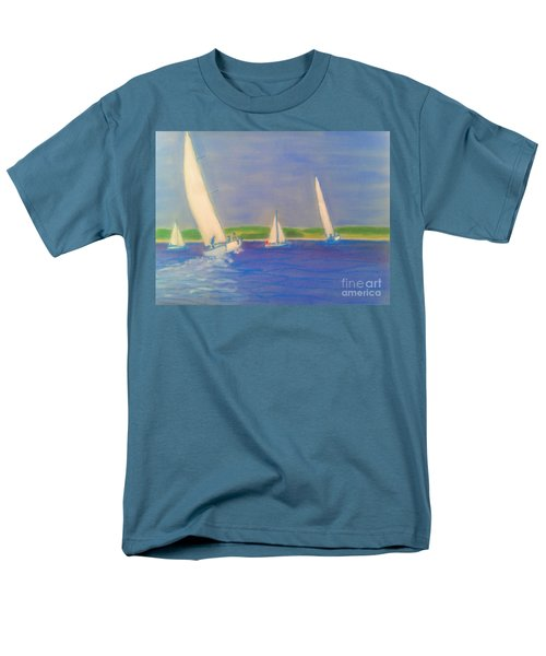 Racing Off Chester Men's T-Shirt  (Regular Fit) by Rae  Smith