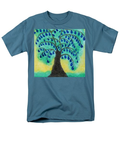 Rain Drop Umbrella Tree Men's T-Shirt  (Regular Fit)