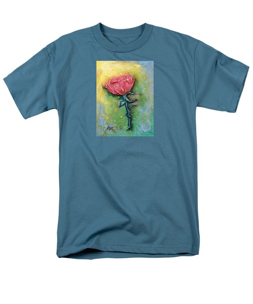 Men's T-Shirt  (Regular Fit) featuring the mixed media Reborn by Terry Webb Harshman