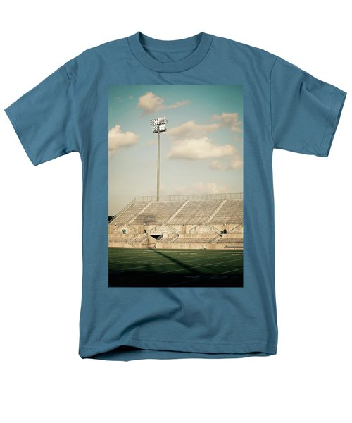 Men's T-Shirt  (Regular Fit) featuring the photograph Recalling High School Memories by Trish Mistric